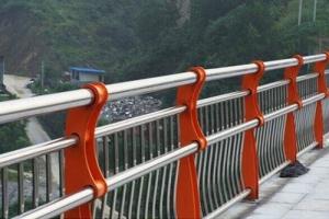 不锈钢复合管双扶手护栏