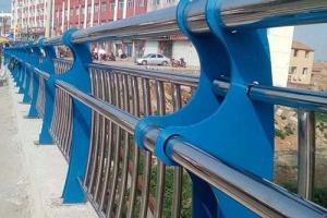复合管城市亮化护栏