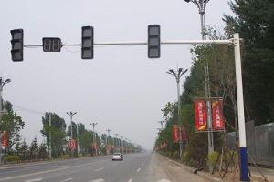 八棱信号灯杆
