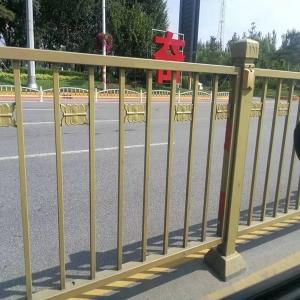 土豪金护栏